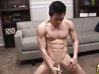Cute Asian Guy Solo Wanking