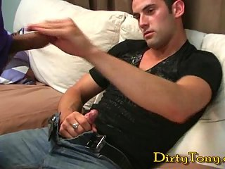 Hot Gay Sucking Dong & Jerking Off