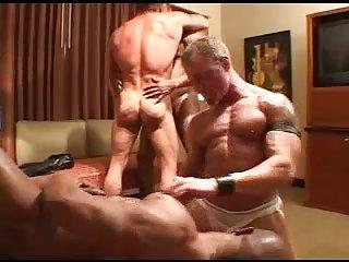 Hot Interracial Group Sex