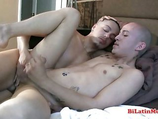 Hot bilatino men fucking