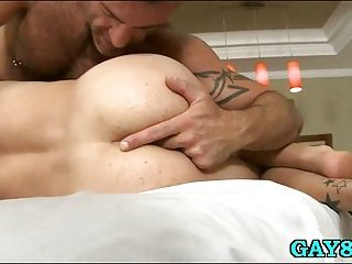 Squeezing that firm ass