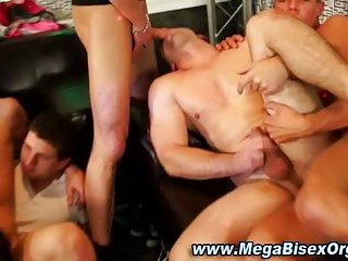 Horny bisexual group