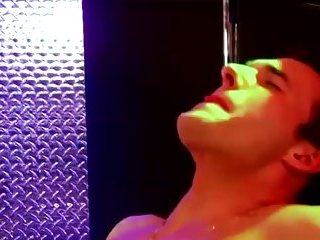Muscle hunk ass fuck facial