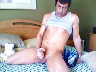 Filthy Stud Stripping For Wanking