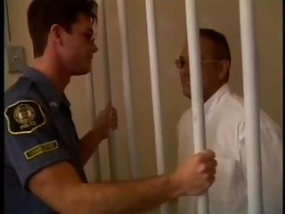 Horny Guys Sucking In The Police Station