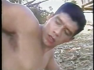 Horny Latin Guys Sucking & Fucking Outdoor