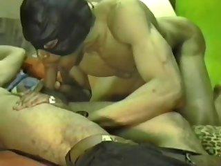 Naughty Ebony Guys Ass Pounding