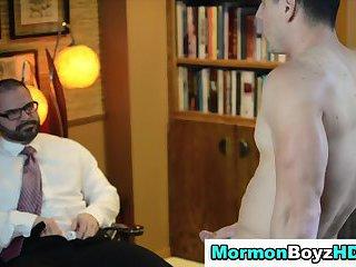 Mormon and elder stroke