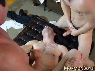 Mormon amateur plowed raw